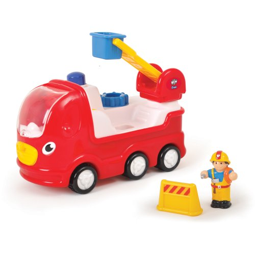 WOW Ernie Fire Engine - Emergency (3 Piece Set) - Friction Fire Engine