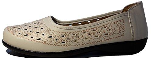 3-W-Hohenlimburg Superbequeme Mokassins Slippers Indianerschuhe Halbschuhe in Topmoderner Optik, in Schwarz, Weiß oder Braun, Damenschuhe, MOK006, Schuh für Damen, ein Echter Hingucker-Schuh. Weiß