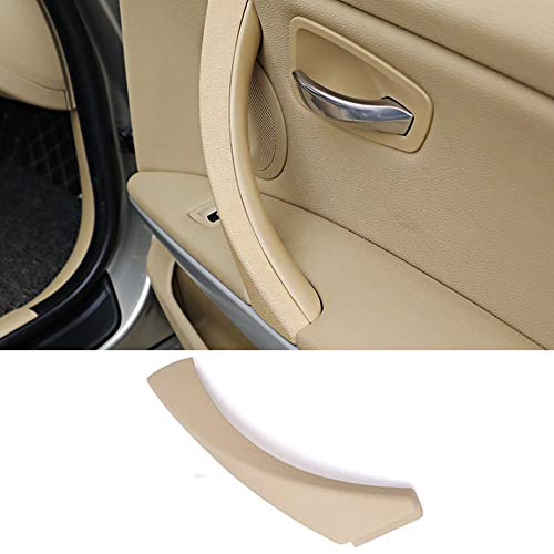 Door handle Outer Covers For BMW 3 Series E90 E91, TTCR-II Beige Right Front/Rear Interior Door Handle Clasp Passenger Side Door Handle Trim (Fits: 323 325 328 330 335 2005-2011) -