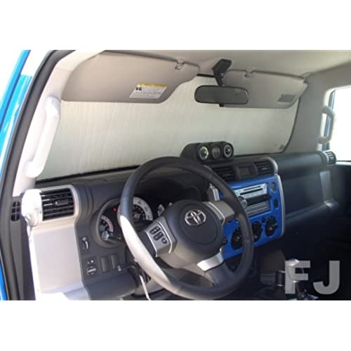 Sunshade For Toyota FJ Cruiser 2007 2008 2009 2010 2011 2012 2013 2014 2015  Windshield Sunshade #1113