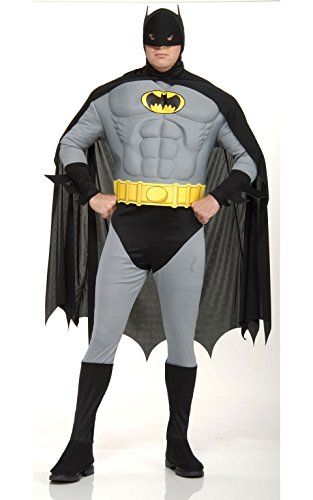 [DC Comics Deluxe Muscle Chest The Batman] (Adult Plus Size Batgirl Costumes)
