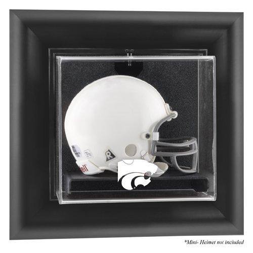 Kansas State Wildcats Framed Wall Mountable Mini Helmet Display Case