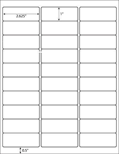 30-up 100 Sheets 1