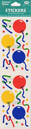 Streamer Balloons Scrapbook Stickers (ST402)