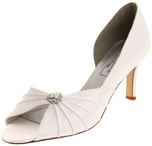 Liz Rene Couture Womens Melissa Pump Bianco