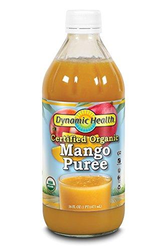 Dynamic Health Mango Puree - Dynamic Health Puree, Mango, 16-Ounce (Pack of 2)