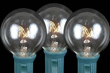 Amazon novelty lights inc g40 e12 5w cl globe outdoor novelty lights inc g40 e12 5w cl globe outdoor patio party mozeypictures Choice Image