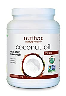 Nutiva Organic, Unrefined, Virgin Coconut Oil, 78 Fl Oz (Pack of 1) (B009Z7UODM) | Amazon price tracker / tracking, Amazon price history charts, Amazon price watches, Amazon price drop alerts