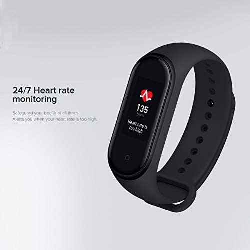 AEE Mi Band 4 Health & Fitness Tracker Exercise Band, Heart Rate Monitor Activity Tracker, Sports Watch 0.95″ Color AMOLED Display- Global Version 41lngyMJ GL