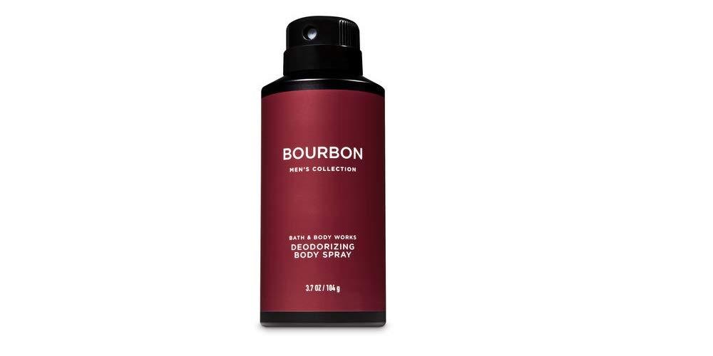 Bath and Body Works Bourbon Men's Deodorizing Body Spray 3.7 Ounce by Bath & Body Works