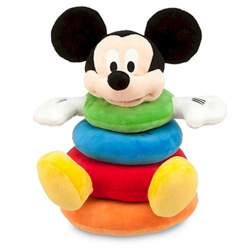 - Disney Mickey Mouse Plush Stacking Toy for Baby
