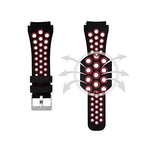 Amazon.com: Silcione Strap for Samsung Galaxy Watch 46mm ...