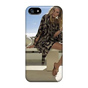 Durable Protector Case Cover With Elsa Hosk Wallpaper Hot Design For Iphone 5/5s