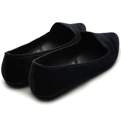 Ollio Color Comfort Shoe Black Multi Warmth Flat Women's Ballet qpqwfr