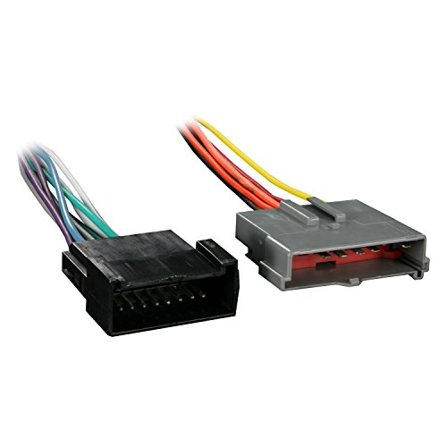 Metra 70-5605 Amplifier Byp Harness for Ford Contour/Mustang ... on radio harness, fall protection harness, swing harness, engine harness, nakamichi harness, battery harness, cable harness, obd0 to obd1 conversion harness, dog harness, alpine stereo harness, maxi-seal harness, electrical harness, oxygen sensor extension harness, safety harness, suspension harness, pet harness, pony harness, amp bypass harness,