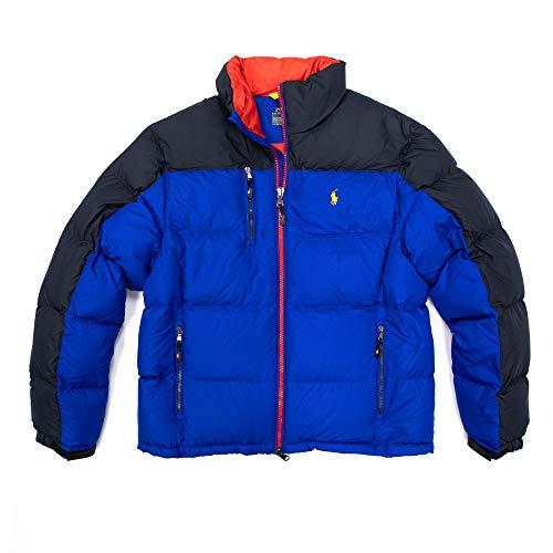 Polo Ralph Lauren Nordic Ski Collection Men's Down Jacket (Blue, Large)