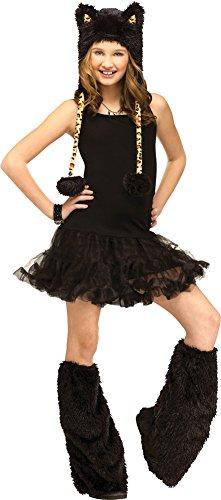 Girls - Animal Hoodie Child Costume Leopard Halloween Costume - Leopard Hoodie Girls Costumes