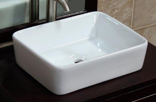Bathroom Ceramic Porcelain Vessel Sink 7050 Pop Up Drain + free Pop Up Drain by ELIMAX'S