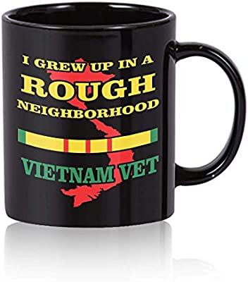 Coffee Mug Military Veteran Vietnam War NEW 14 ounce cup with gift box