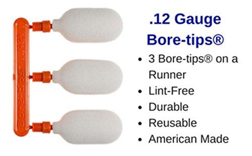 SWAB-ITS 12 Gauge Bore Tip Foam Bore Snake Cleaning Brush Reusable Lint ()