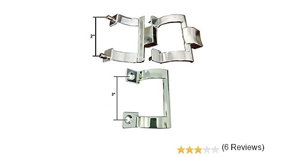 Cromado soportes para toallero de barra para mampara de ducha y ...