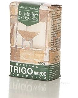 Harina de Trigo Ecológica Blanca W-200. 500 gr