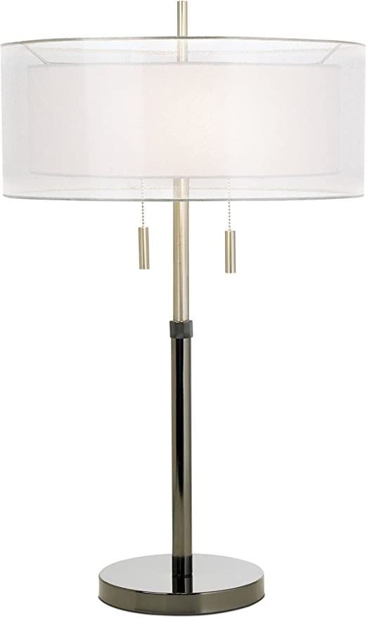 Pacific Coast Lighting Seeri Table Lamp In Black Chrome Pacific