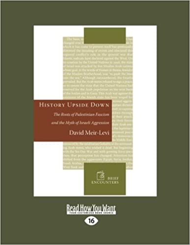 History Upside Down: The Roots of Palestinian Fascism and the Myth of Israeli Aggression