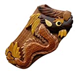 Handmade Wooden Wood Intarsia Puzzle Dragon puzzle box (3077) - HIDE GIFT CASH