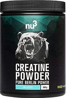 nu3 Creatina en polvo | 500g de creatina pura |100% mono hidrato CREAPURE | Fuente…