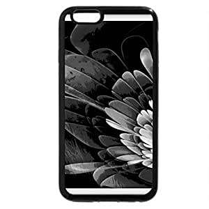 iPhone 6S Case, iPhone 6 Case (Black & White) - The smell of a flower