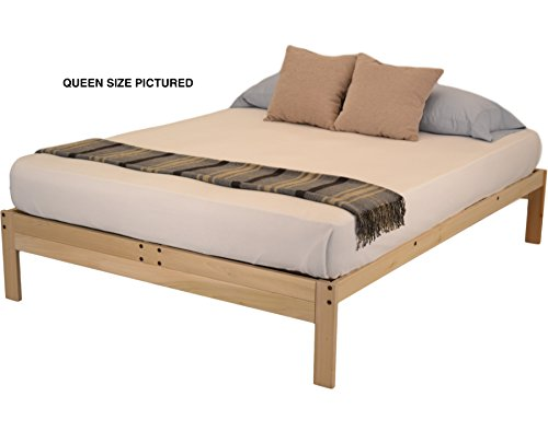 World of Futons Nomad Plus Platform Bed - Queen
