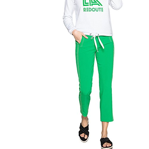 Slim Pinocchietto La Twill Collections Verde Redoute In Pantaloni Donna A 1wCqFPCx