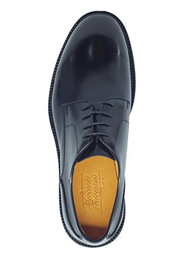 à Noir Chaussures Mercanti pour de lacets ville homme Nero Veneto Fiorentini 07701 I0Rxq0PB