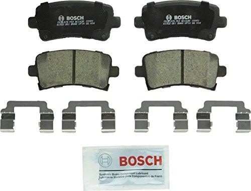 Bosch BC1430 QuietCast Premium Ceramic Rear Disc Brake Pad Set (Brakes Regal Buick)