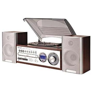 BigBen TD98 - Tocadiscos: Amazon.es: Electrónica