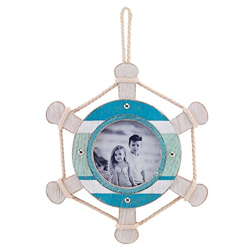 ships wheel picture frame - 6