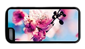 Hipster buy for ipod Touch 4 cases sakura blossoms TPU Black for Apple for ipod Touch 4