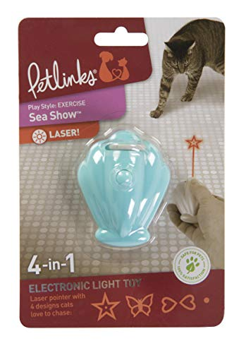 Petlinks Sea Show Electronic Light Cat Toy