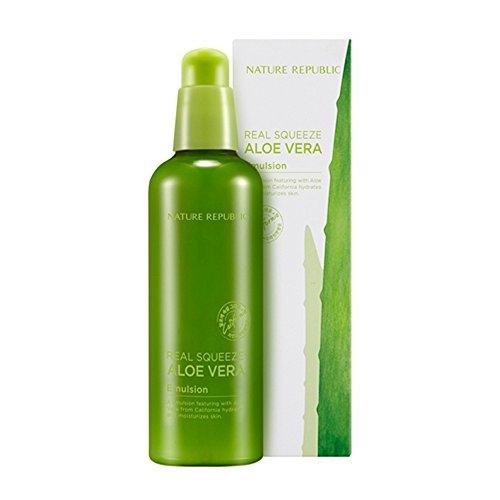 Nature Republic Real Squeeze Aloe Vera Emulsion, 125 Gram