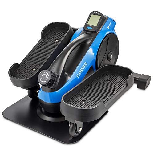 LifePro Under Desk Elliptical Trainer for Home & Office – Calf Leg Foot Pedal Exerciser – Seated Compact Elliptical Bike…
