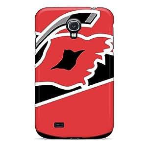Flexible Tpu Back Case Cover For Galaxy S4 - Carolina Hurricanes