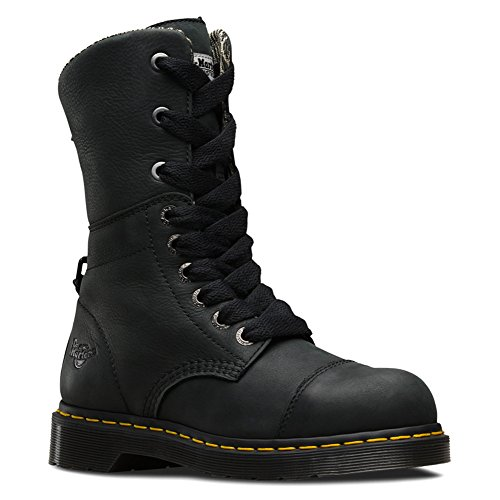 Steel Leah Dr Toe Martens Boot q5xREw