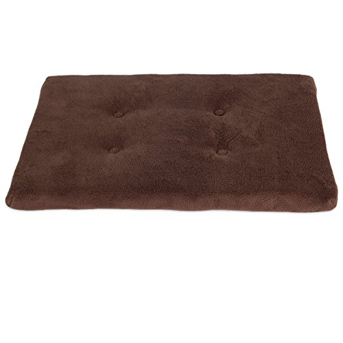 Precision Pet 1000 SnooZZy Pet Mattress, 17.5 by 11.5-Inch, Baby Terry, Chocolate by Petmate