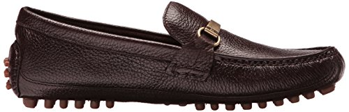 Cole Haan Mens Provincetown Bit Driver Ii Loafer Brown Pebbled