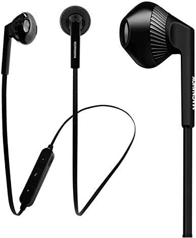 Magnavox MBH539 - Auriculares estéreo con Bluetooth (tecnología inalámbrica v4.1, con micrófono integrado), color negro: Amazon.es: Electrónica