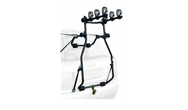 Peruzzo Raleigh - Portabicicletas para maletero de coche (3 bicicletas, plegable, peso máximo 45 kg, 6 tiras de sujeción, certificado TUV): Amazon.es: Coche ...