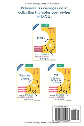 Mieux que des annales : des sujets inédits corrigés - Maths - Tle S - Bac: Amazon.es: Internotes: Libros en idiomas extranjeros