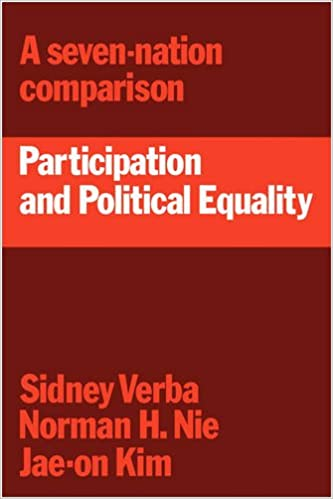 Participation and Political Equality: A Seven-Nation Comparison