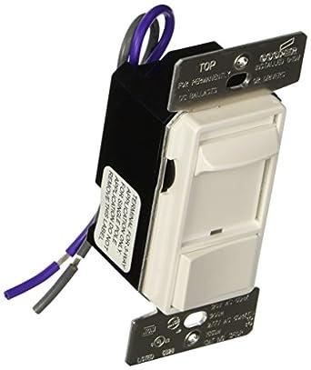 Cooper Controls SF10P-W Slide 0-10V Dimmer - 120/277V, White on